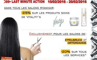 Last Minute Action 02/2016