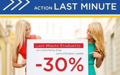 Last Minute 26/08/2020